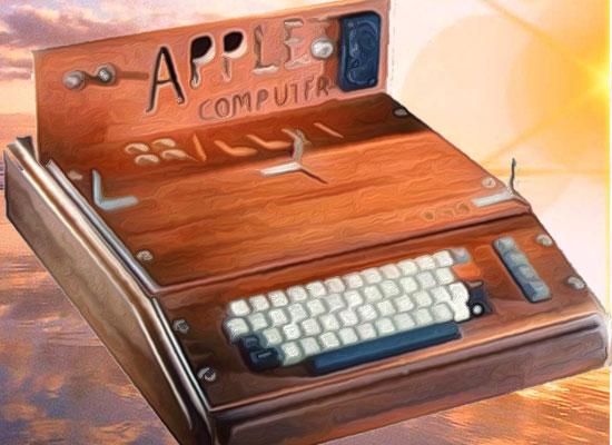 первый apple компьютер